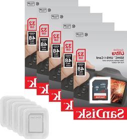 SanDisk 32GB SD Ultra 48MB/s 320X Class 10 C10 UHS-I 32G SDH