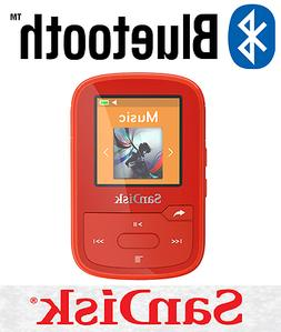 SanDisk SDMX28-016G-G46R Clip Sport Plus MP3 Player, 16GB