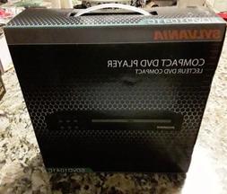 Sylvania SDVD1041C Compact DVD Player New.