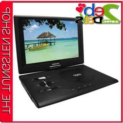 SDVD1332 13.3-Inch Swivel Screen Portable DVD Player With US