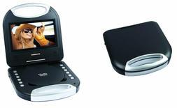 "NEW SYLVANIA SDVD7049-BLACK 7"" Portable Dvd Player With Inte"