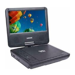 "Sylvania Sdvd7078 7"" Portable Dvd Player With Swivel Screen"