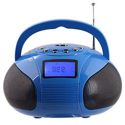 Mini Stereo Speaker, Portable Radio Alarm Clock MP3 System w