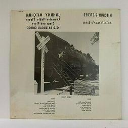 "Sealed JOHNNY MITCHUM 12"" Vinyl LP Champion Fiddle Player Ol"