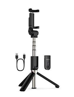 Yoozon Selfie Stick Bluetooth, Extendable Selfie Stick with