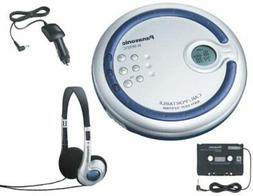 Panasonic SL-SX321C Portable CD Player with Car Kit