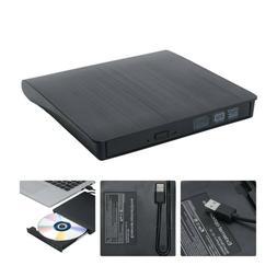 Slim External USB 3.0 DVD RW CD Writer Drive Burner Reader P
