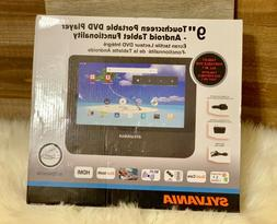 Sylvania SLTDVD9220 9-Inch 2-in-1 Portable DVD Player and An
