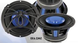 Soundstream SM2.650 6.5-Inch 2 Way 250W Pro Audio Midrange S