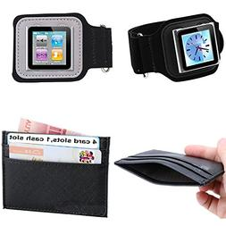PiGGyB So Suede Armband ViC CoV Leather Card Wallet Set for