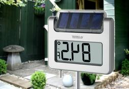 Solar Outdoor Thermometer