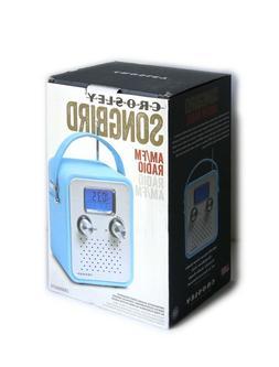 CROSLEY SONGBIRD AM/FM RADIO BLUE