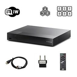 Sony BDP-S3700 Region Free Blu-ray Player, Multi region Smar