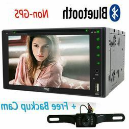 "Sony Lens Double 2Din 7"" Car Stereo Radio DVD Player Bluetoo"