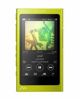 _SONY Walkman A series 16GB NW-A35: Bluetooth lime yellow NW