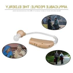 Sound Voice Amplifier Rechargeable Personal Pair Hearing Aid