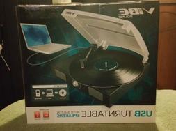 Vibe  Sound VS-2002-SPK USB Turntable/Vinyl Archiver Record