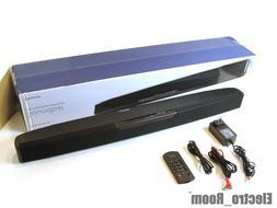Insignia Soundbar with 39-Watt Digital Amplifier/ Black  NS-