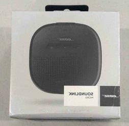 BOSE SOUNDLINK MICRO BLUETOOTH SPEAKER 783342-0100 BLACK
