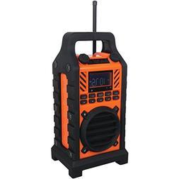 Sylvania SP303-Orange Heavy Duty Rugged Bluetooth Portable S