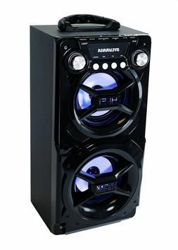 Sylvania SP328-Black Portable Bluetooth Speaker