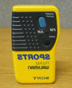 Sony SRF-8 Sports Walkman FM/AM Hand Held Radio