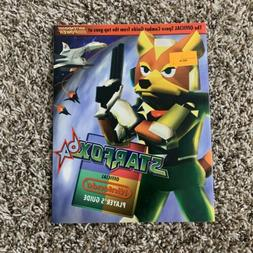 Star Fox 64 StarFox Nintendo Player's Strategy Guide Authe