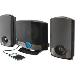 Stereo System Home Wall Mount CD Player Shelf Audio Speakers