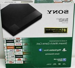 Sony Streaming Blu-ray Disc Player With Wi-Fi HD Upscale Mov