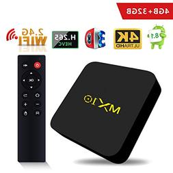 SCS ETC TV Box -MX10 with Android 8.1 OS, Features 4GB + 32G