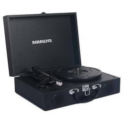 Sylvania STT102USB-BLACK Suitcase Design PC Encoding USB Tur