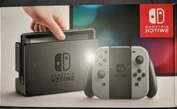 Nintendo Switch Game System Console Gray/Grey Joy-Con  BRAND