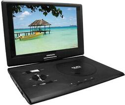 Swivel Screen Portable DVD Player SDVD1332 With USB/SD Card