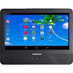 "Sylvania SLTDVD9220 9"" Android Tablet with Integrated Portab"