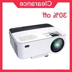 Exquizon Mini Projector Support Screen Sharing, Quiet Coolin