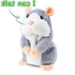 Talking Hamster Plush Toy, Repeat What You Say Funny Kids St