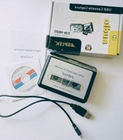 Tape to PC Super USB Cassette-to-MP3 Converter Capture Audio