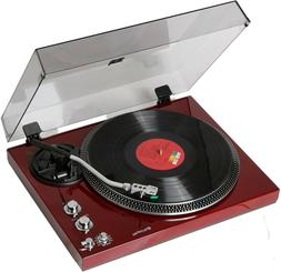 tcp4530 blk record player turntable 33 45