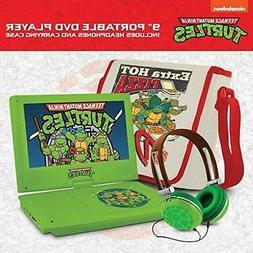 "Teenage Mutant Ninja Turtles 9"" Portable DVD Player Carrying"