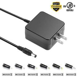 TFDirect Universal Power Adapter with 6 DC Plugs for all Bra