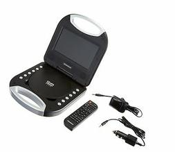 Magnavox Black 7 Inch Portable DVD Player With Remote Contro