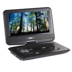 "Naxa 9"" TFT LCD Swivel Screen Portable DVD Player with USB/S"