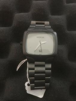 The Player, Nixon, 100M Stainless Steel, Black