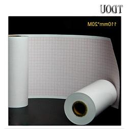 TDOU Thermal paper Roll ECG Paper 110mm20M for CE Marked Dig