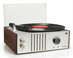 THREE LEFT!! Crosley MAHOGANY 3-Speed Record Player Turntabl