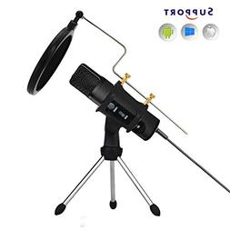 TKGOU Microphone For IPhone Phone With P