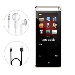Eleston 8GB Touch Screen MP3 Player, Lossless Alloy Metal Bo