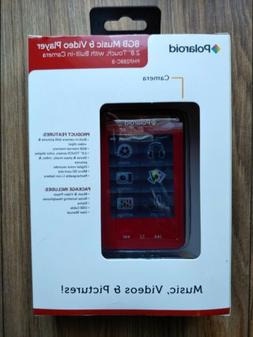 Polaroid Touch Screen 8GB MP3 Music Video Camera Player PMP2