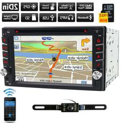 "Touchscreen 2 Din 7"" Car Stereo DVD CD MP3 Player HD In Dash"