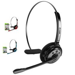 Truck Driver Over Head Bluetooth Wireless Noise Cancelling H